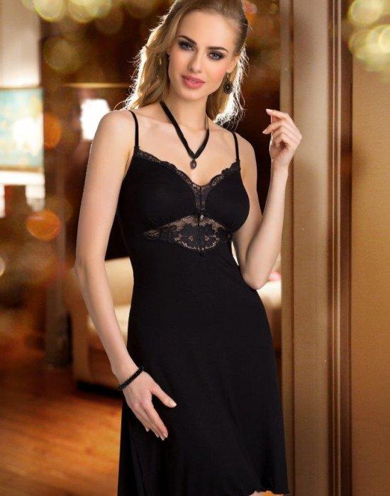 Нощница в черен цвят Rossi, Eldar, Нощници - Modavel.com