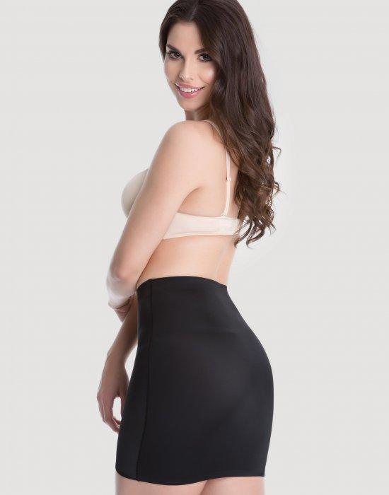 Моделираща пола в черен цвят, Julimex, Моделиращо - Modavel.com