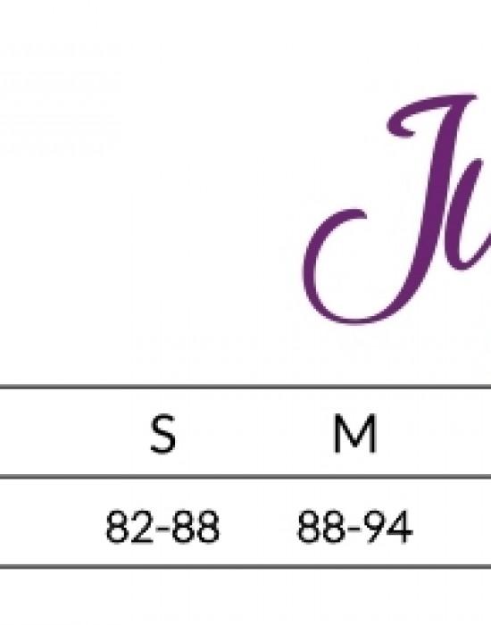 Жартиерен колан в бял цвят Rose, Julimex, Жартиер колани - Modavel.com