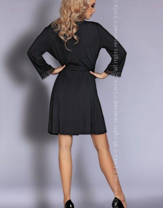 Секси комплект от три части в черно Luisanna, LivCo Corsetti Fashion, Комплекти - Modavel.com