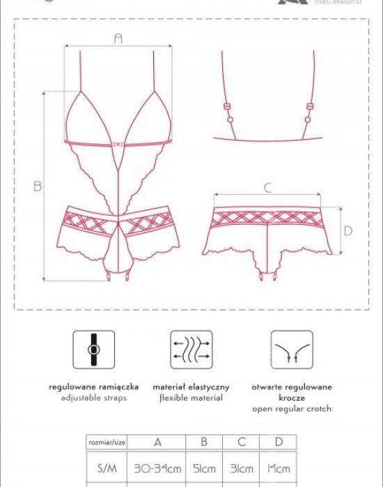 Секси боди в черен цвят Magira, CoFashion, Секси Бодита - Modavel.com