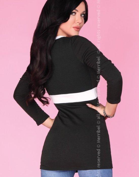 Дамска туника в черен цвят CG033, Merribel, Туники - Modavel.com