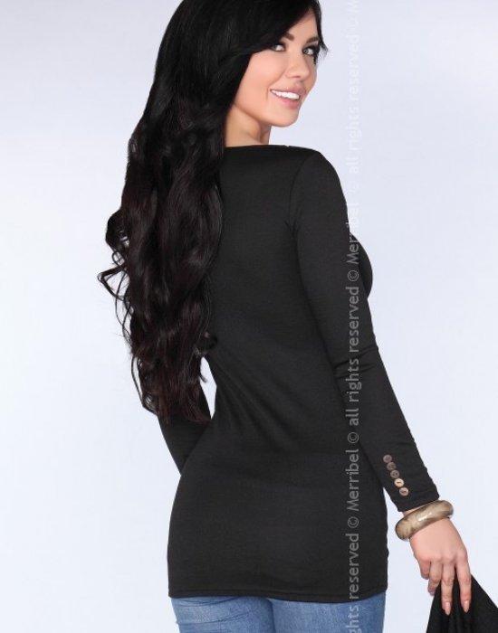 Дамска туника в черен цвят CG029, Merribel, Туники - Modavel.com
