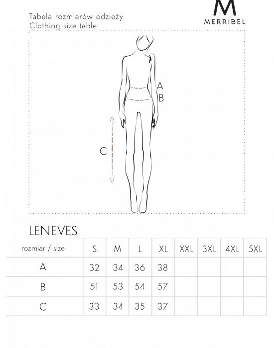 Комплект от две части в цвят камел Leneves D05, Merribel, Блузи / Топове - Modavel.com
