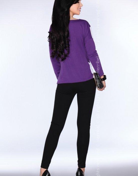 Елегантна дамска блуза в лилаво CG004, Merribel, Блузи / Топове - Modavel.com