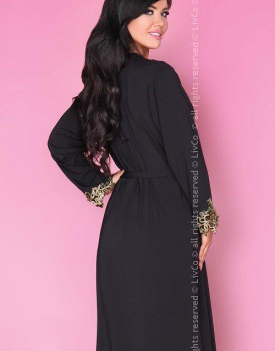 Секси халат в черен цвят Astina, LivCo Corsetti Fashion, Секси Халати - Modavel.com