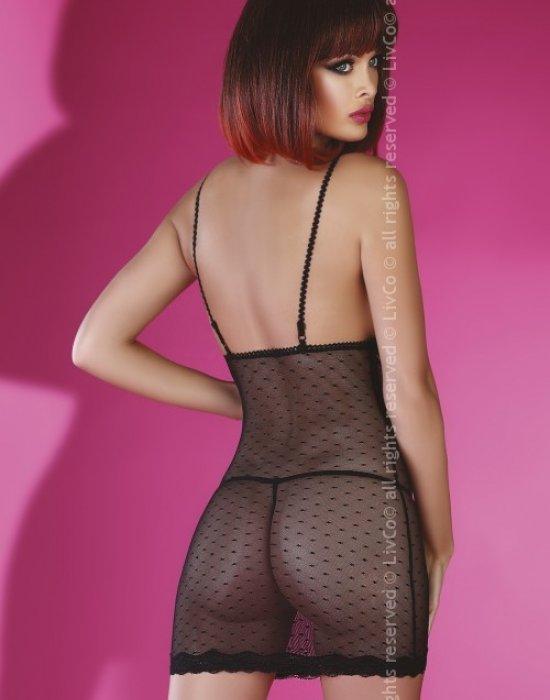 Еротична нощница с прашки Centaura, LivCo Corsetti Fashion, Комплекти - Modavel.com