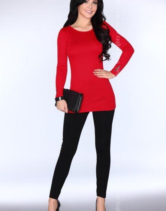Дамска туника в червен цвят CG029, Merribel, Туники - Modavel.com