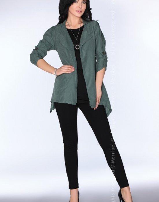 Асиметрично дамско сако CG026, Merribel, Връхни - Modavel.com