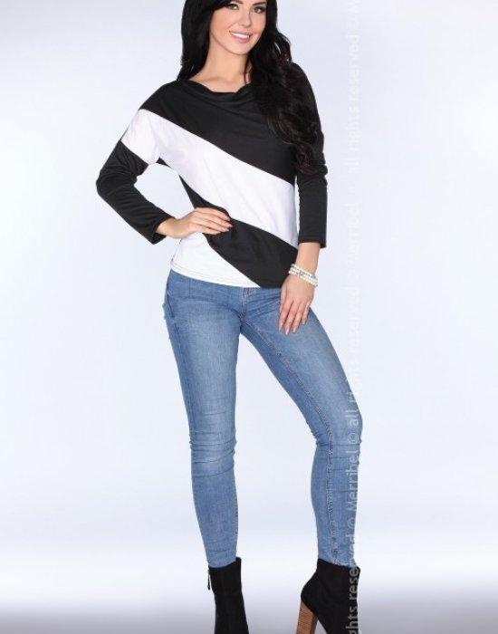 Елегантна дамска блуза в черно CG004, Merribel, Блузи / Топове - Modavel.com