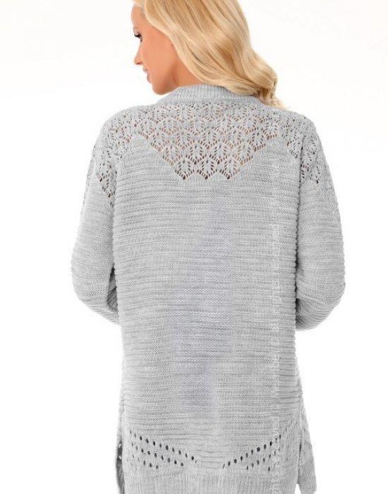 Дамска жилетка в сив цвят Sulamin, Merribel, Връхни - Modavel.com