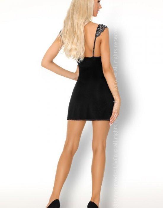 Секси нощница с прашки Meredia, LivCo Corsetti Fashion, Комплекти - Modavel.com
