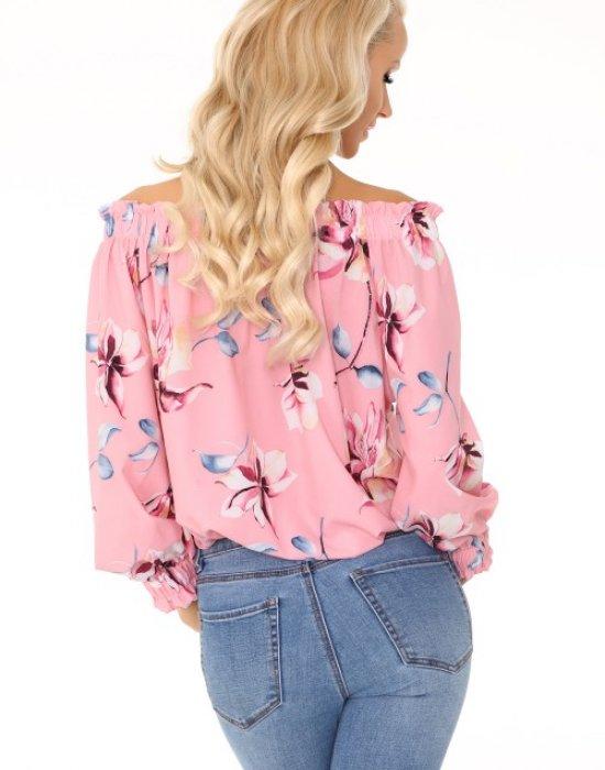 Дамска блуза с голи ръмене Mhairina, Merribel, Блузи / Топове - Modavel.com
