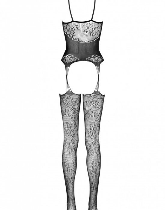 Целокупно боди в черен цвят Jeanin, LivCo Corsetti Fashion, Целокупни бодита - Modavel.com