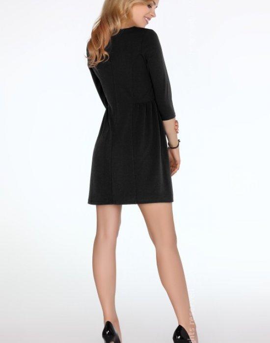 Елегантна къса рокля в черно Kayceen, Merribel, Къси рокли - Modavel.com