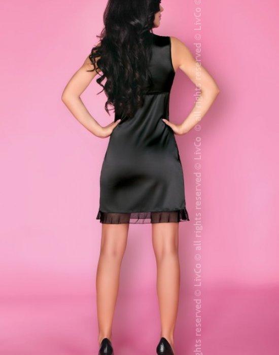Еротична нощница в черен цвят Matleena, LivCo Corsetti Fashion, Нощници - Modavel.com