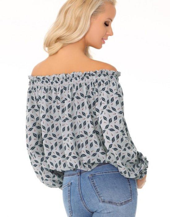 Дамска блуза с голи ръмене Niladim, Merribel, Блузи / Топове - Modavel.com
