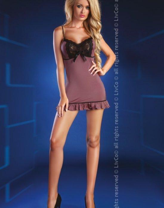 Секси нощница с прашки Liliy, LivCo Corsetti Fashion, Комплекти - Modavel.com