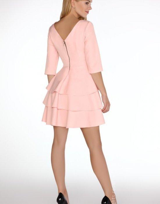 Елегантна мини рокля в розово Reethan, Merribel, Къси рокли - Modavel.com