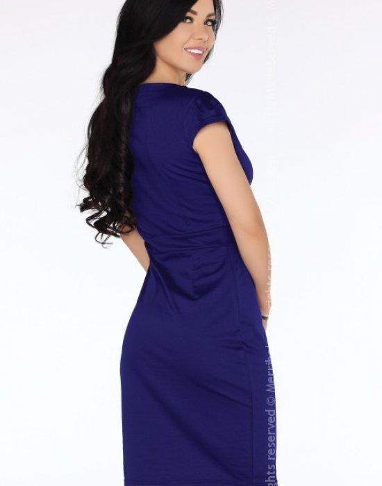 Елегантна миди рокля в лилав цвят Lavanyam, Merribel, Миди рокли - Modavel.com