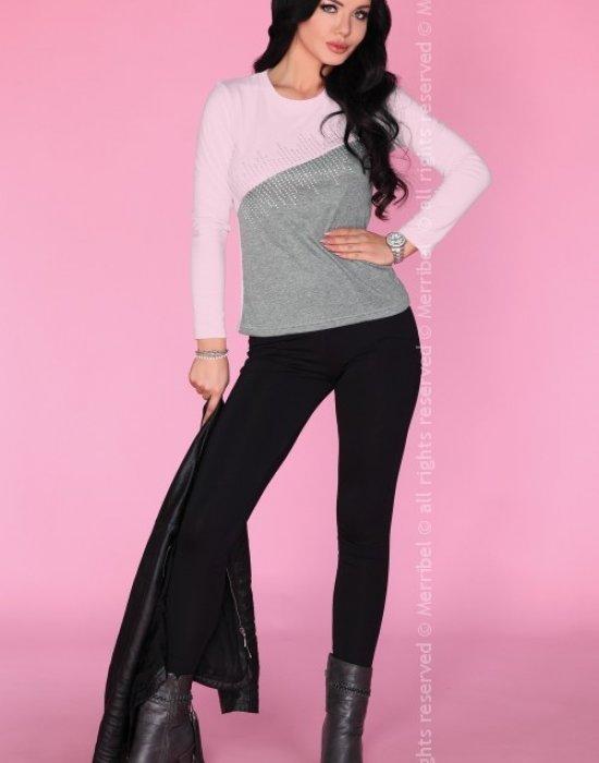 Дамска блуза в розов цвят, Merribel, Блузи / Топове - Modavel.com