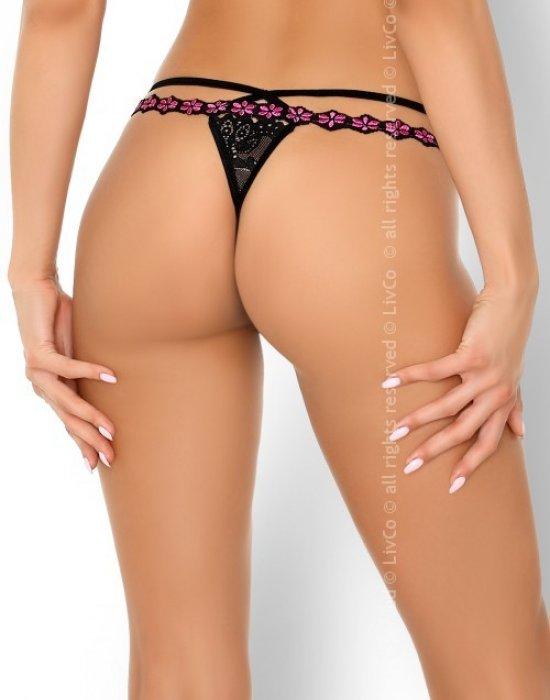 Секси прашки в черен цвят Amondina, LivCo Corsetti Fashion, Прашки - Modavel.com