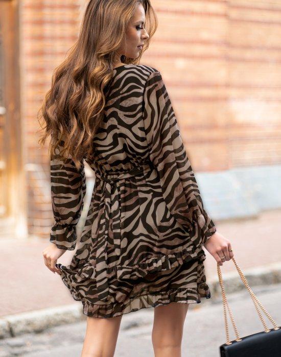 Ефирна дамска рокля Redira, Merribel, Къси рокли - Modavel.com