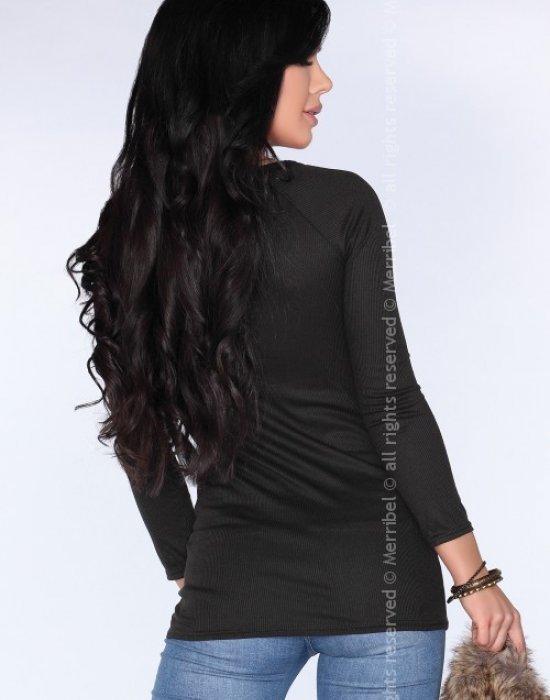Дамска туника в черен цвят CG025, Merribel, Туники - Modavel.com