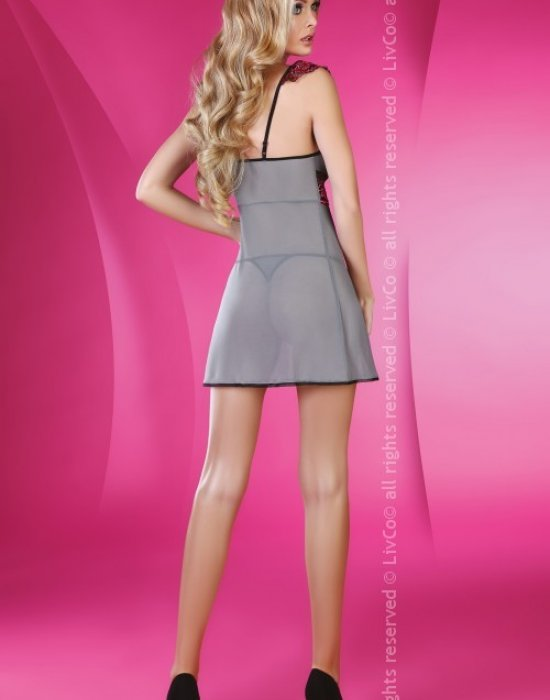 Прозрачна нощница с прашки Daylight, LivCo Corsetti Fashion, Комплекти - Modavel.com