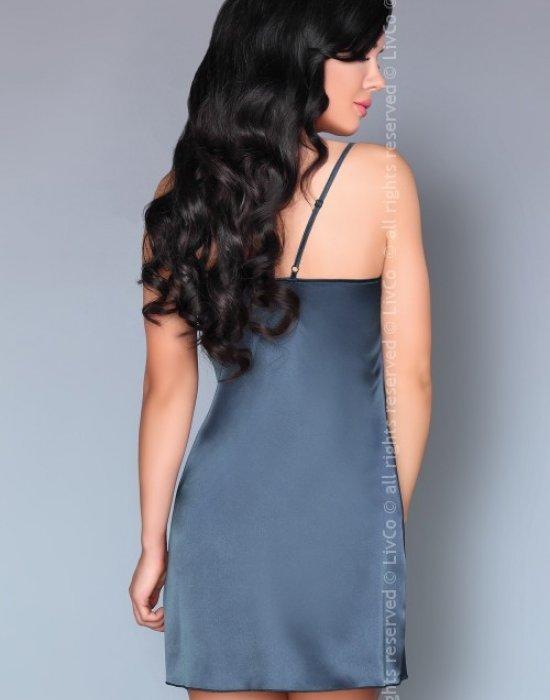Еротичен комплект от три части в тъмносиньо Jacqueline, LivCo Corsetti Fashion, Комплекти - Modavel.com