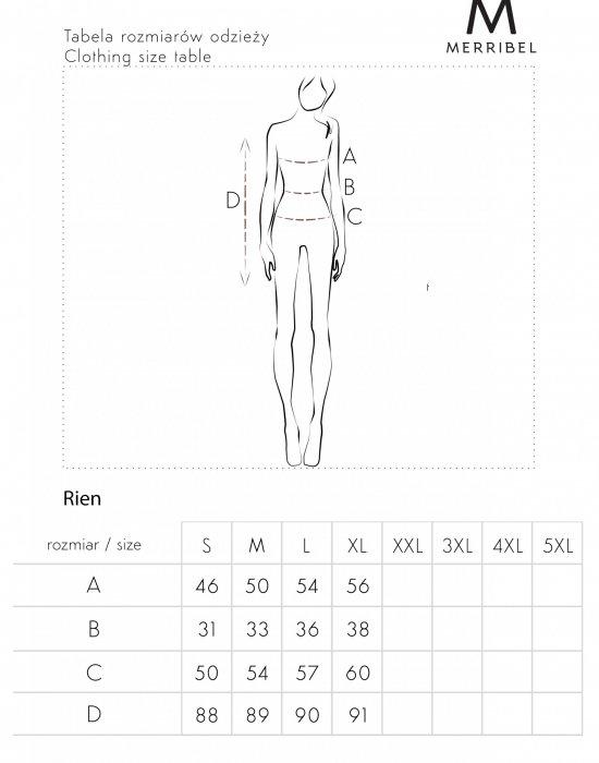Елегантна рокля в черно Rien, Merribel, Къси рокли - Modavel.com