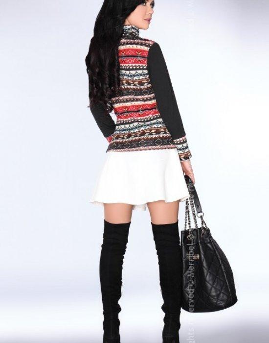 Дамски пуловер с висока яка CG013, Merribel, Блузи / Топове - Modavel.com