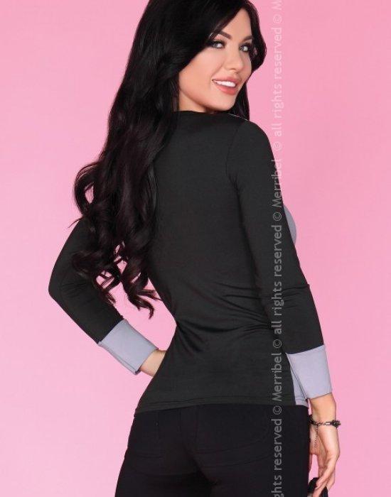 Дамска блуза в сив цвят CG012, Merribel, Блузи / Топове - Modavel.com