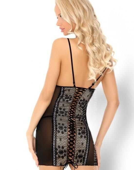 Еротична нощница с прашки Ambrosia, LivCo Corsetti Fashion, Комплекти - Modavel.com