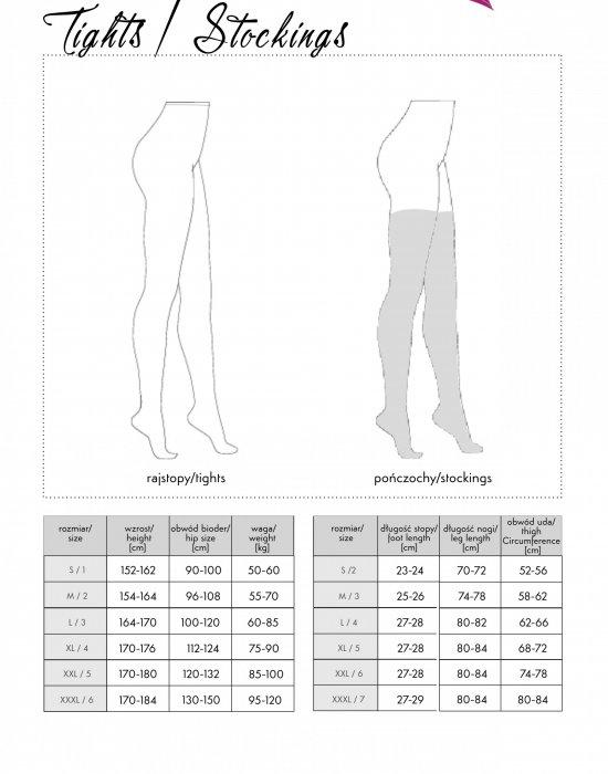 Жартиерен колан с чорапи в черен цвят Lamean XG044, LivCo Corsetti Fashion, Жартиер колани - Modavel.com
