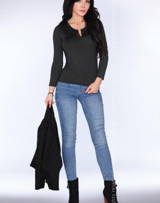 Елегантна дамска блуза в черно CG011, Merribel, Блузи / Топове - Modavel.com