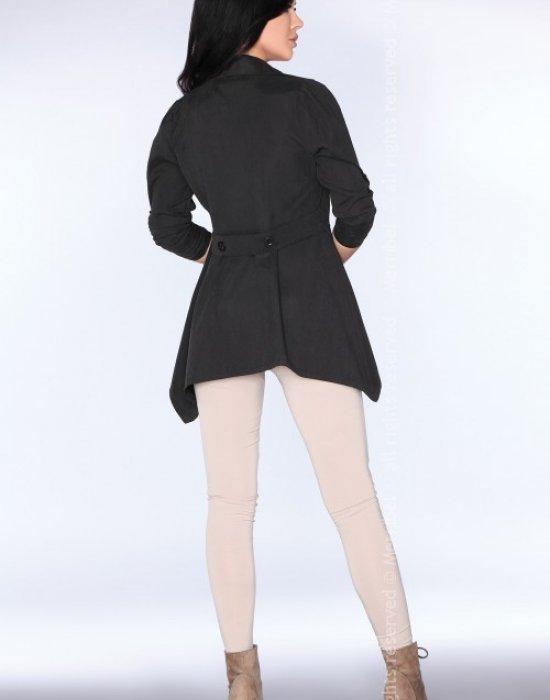 Асиметрично дамско сако в черно CG026, Merribel, Връхни - Modavel.com