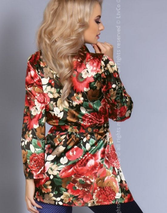 Сатенена пижама от две части Frida, LivCo Corsetti Fashion, Пижами - Modavel.com