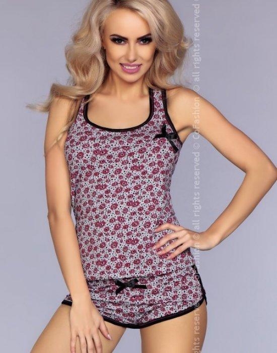 Лятна дамска пижама в розово, CoFashion, Пижами - Modavel.com