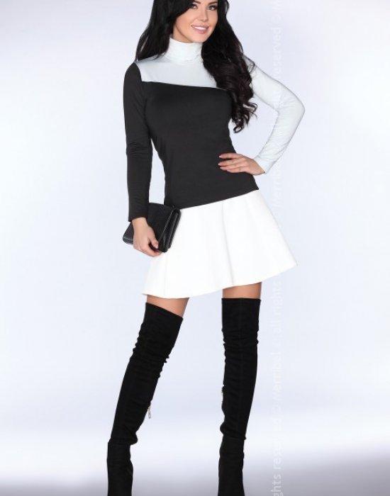 Дамско поло в черен цвят CG015, Merribel, Блузи / Топове - Modavel.com