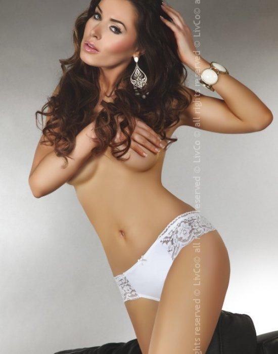 Бикини в бял цвят Astrid, LivCo Corsetti Fashion, Бикини - Modavel.com