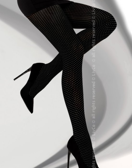 Чорапогащник в черен цвят Millaray 40 DEN, LivCo Corsetti Fashion, Чорапогащи - Modavel.com