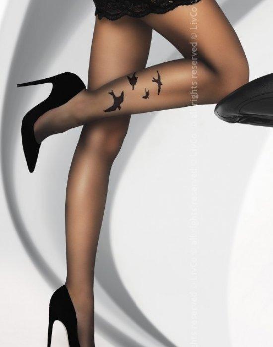 Чорапогащник в черен цвят Orsita 20 DEN, LivCo Corsetti Fashion, Чорапогащи - Modavel.com