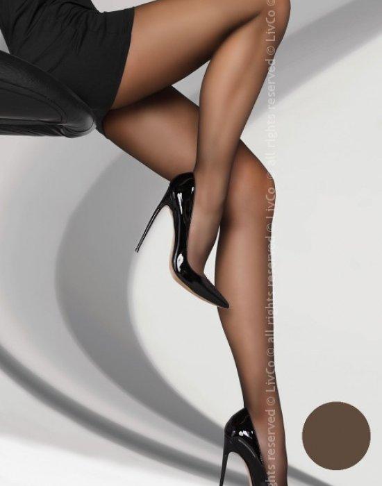 Чорапогащник в цвят мока Variniana 20 DEN, LivCo Corsetti Fashion, Чорапогащи - Modavel.com