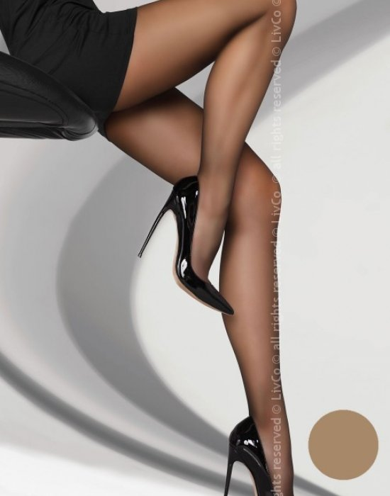 Чорапогащник в цвят натурал Variniana 20 DEN, LivCo Corsetti Fashion, Чорапогащи - Modavel.com