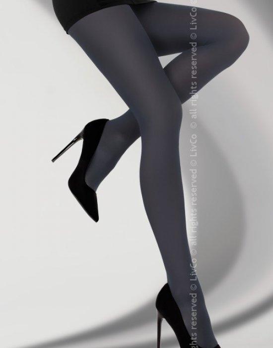Чорапогащник в тъмносин цвят Clamancea 60 DEN, LivCo Corsetti Fashion, Чорапогащи - Modavel.com