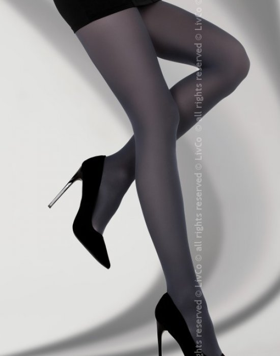 Чорапогащник в тъмносин цвят Marcela 40 DEN, LivCo Corsetti Fashion, Чорапогащи - Modavel.com