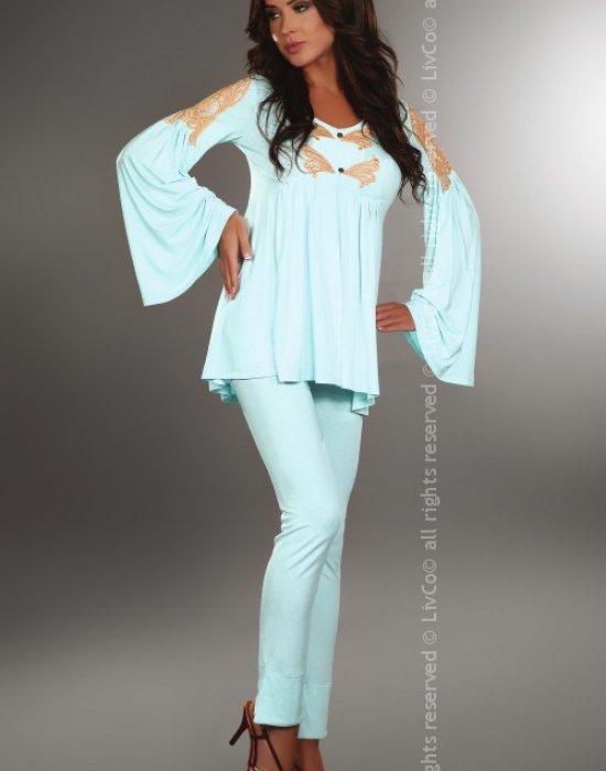 Дамска пижама от две части Chloe, LivCo Corsetti Fashion, Пижами - Modavel.com