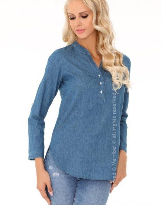 Дамска риза с регулиращи ръкави Prema, Merribel, Ризи - Modavel.com