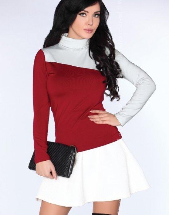 Дамско поло в цвят бордо CG015, Merribel, Блузи / Топове - Modavel.com